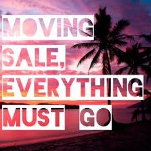 Moving Sale 🚛